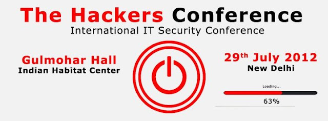 'The Hackers Conference 2012' to be held in New Delhi