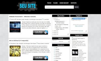 Template Atualizado para blog de Downloads
