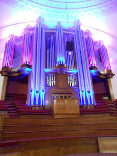The Organ at the Methodist Central Hall, London