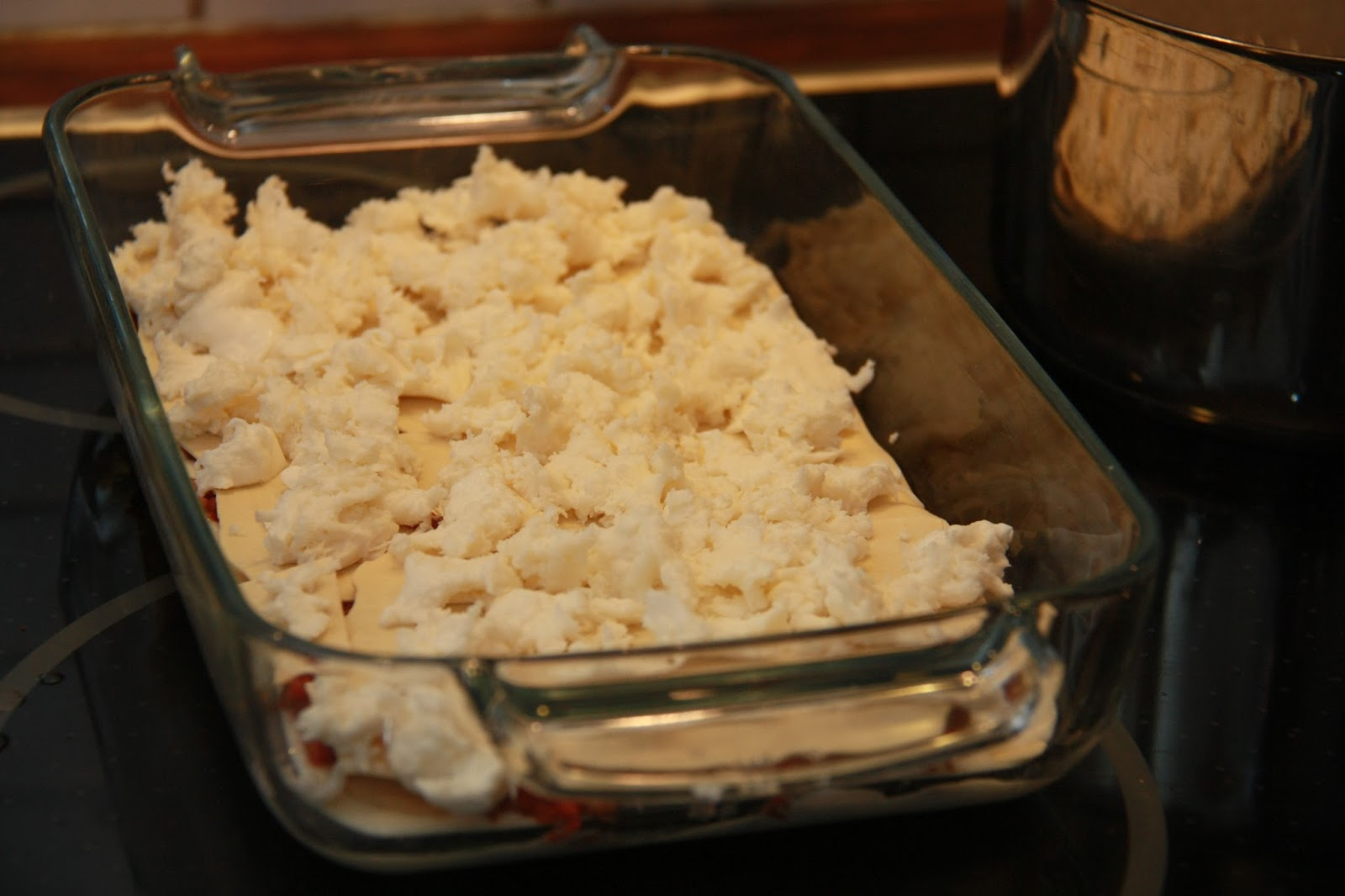 mozzarella lasagne recept