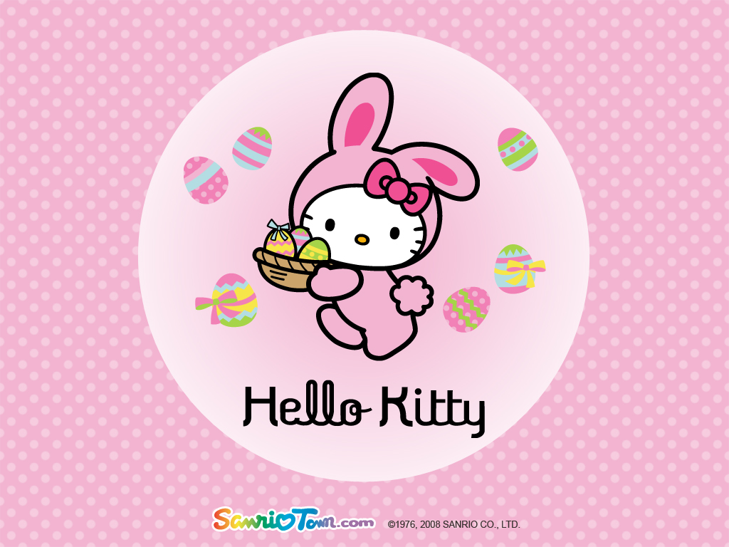 Wallpaper Hello Kitty Imut Dan Lucu