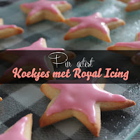 Koekjes met Royal Icing - pin getest