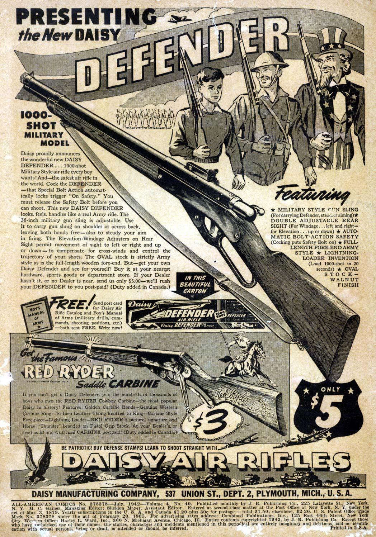 Read online All-American Comics (1939) comic -  Issue #40 - 2