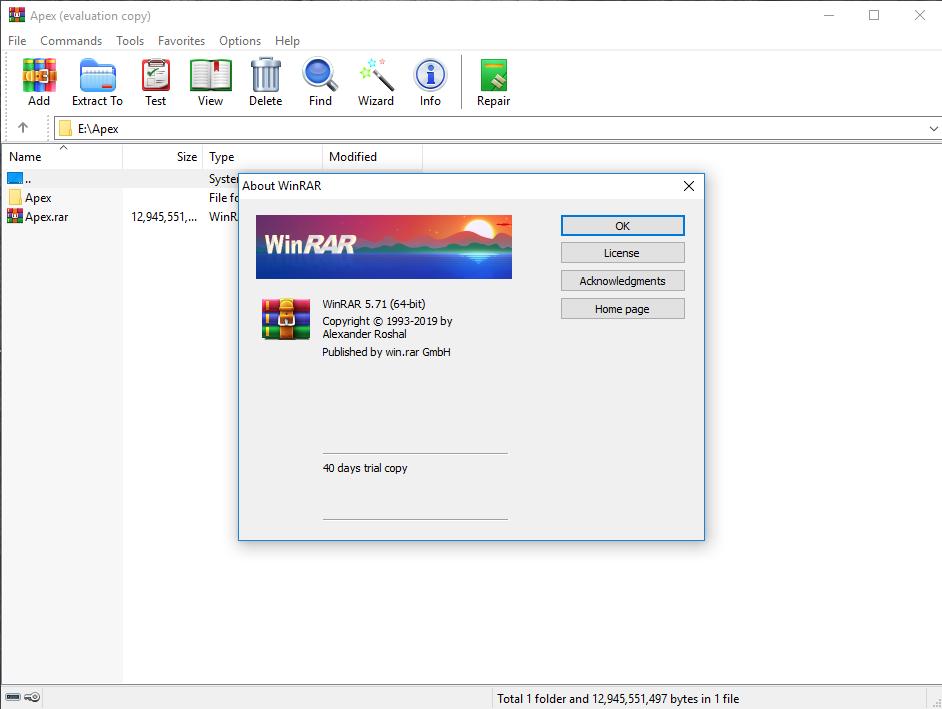 WinRAR 5.80 Beta 2