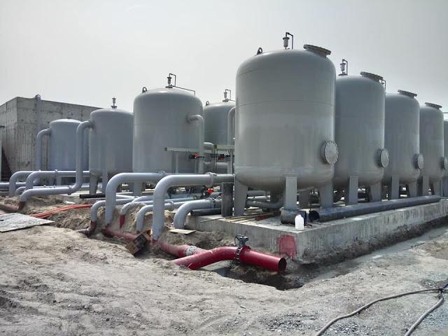 Nhà máy nước sạch chung cư Thanh Hà Cienco 5 hoàn thiện