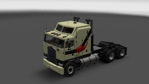 Globalink Skin for Kenworth K100
