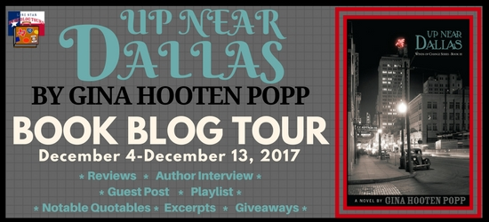 Up Near Dallas Blog Tour Banner