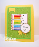 Teacher Thank You card-designed by Lori Tecler/Inking Aloud-stamps from SugarPea Designs