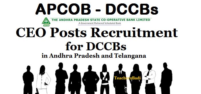 APCOB CEOs Recruitment