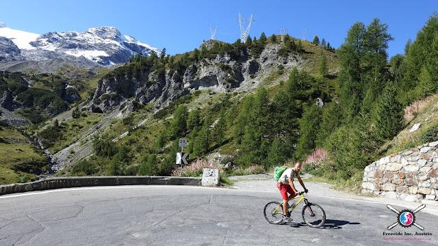 Mountainbike Touren Vinschgau Stifster Joch