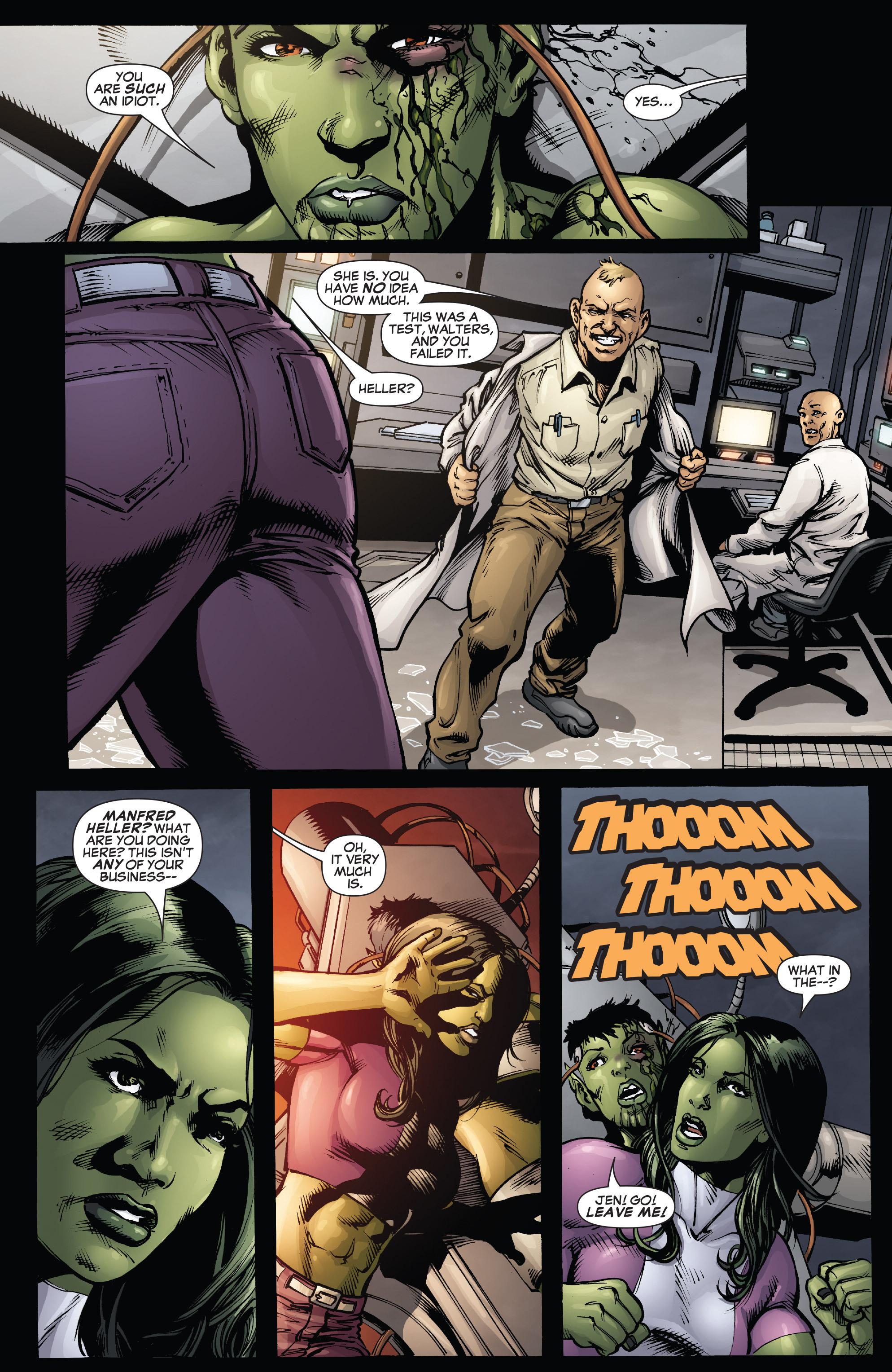 Read online She-Hulk (2005) comic -  Issue #38 - 21