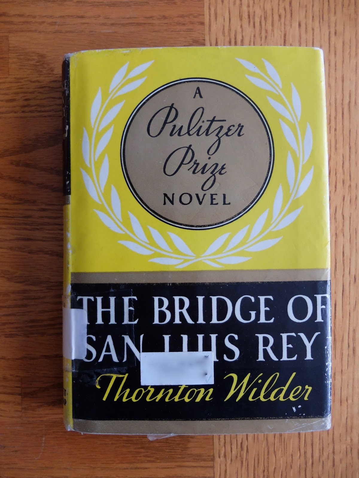 The Bridge Of San Luis Rey Book
