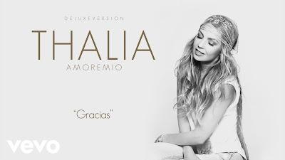 Canción Gracias de Thalía