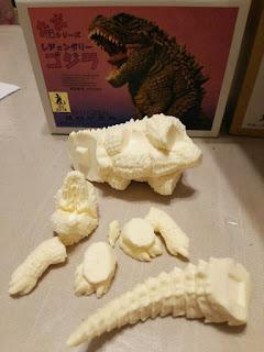 Godzilla 2014 resin kit demormed by Shinzen Zokei KAIJU JAPAN