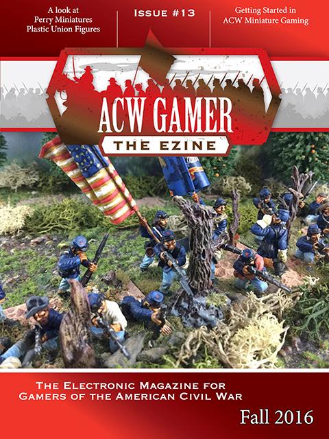 10mm Wargaming Acw Gamer The Ezine Issue 13 November 2016