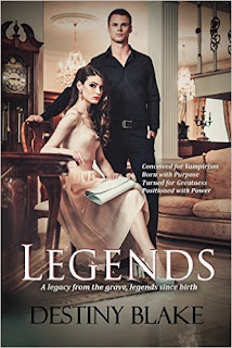 Legends - Volume One in the New World Order Vampire Conspiracy series, a fast-paced YA paranormal novel by Destiny Blake