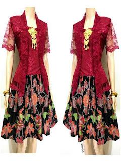model baju batik pesta untuk remaja