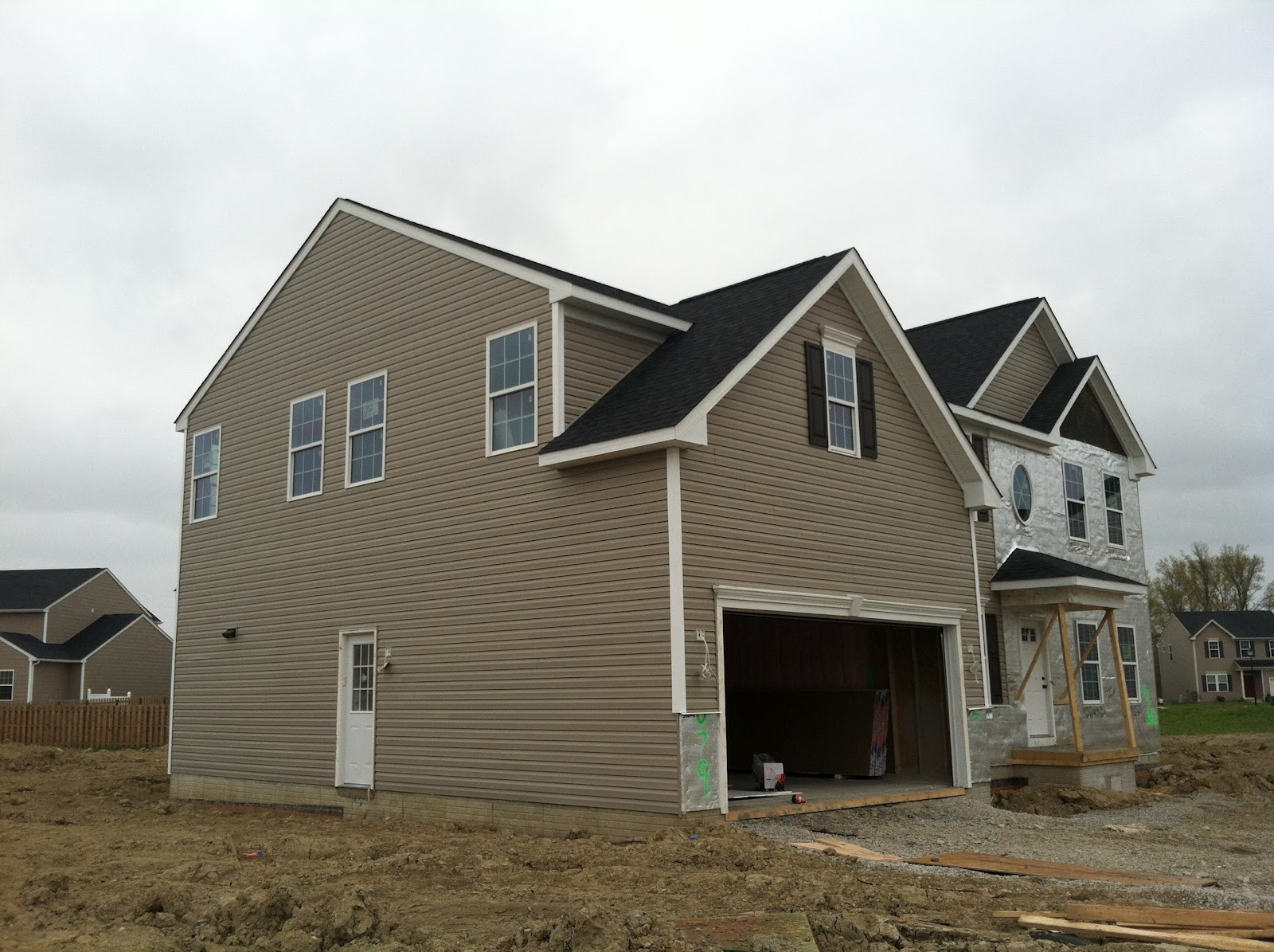 Building Our Verona Siding And Shutters