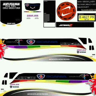 Download Livery Bus Sinar Jaya