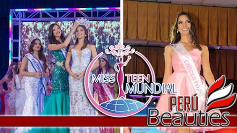 Luciana Valera es Miss Teen Mundial Perú 2018