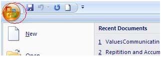 Cara menyisipkan powerpoint 2007 ke ms word 2007