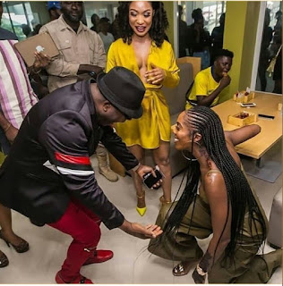 Sir Shina Peter, Tiwa Savage and Cee-C