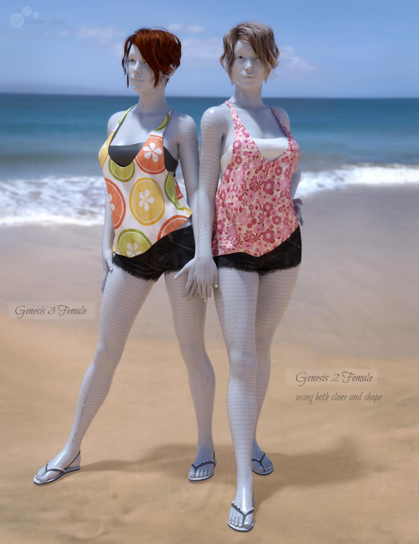 Daz3D: Genesis 3 Female for Genesis 2 Female(s) | valzheimer