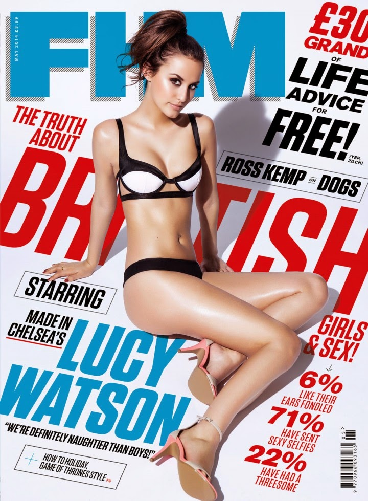 Lucy Watson for FHM Magazine May 2014