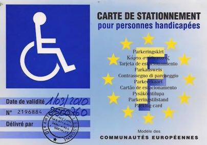 VIDEO. À Paris, de fausses cartes d'handicapés pour se garer gratuitement