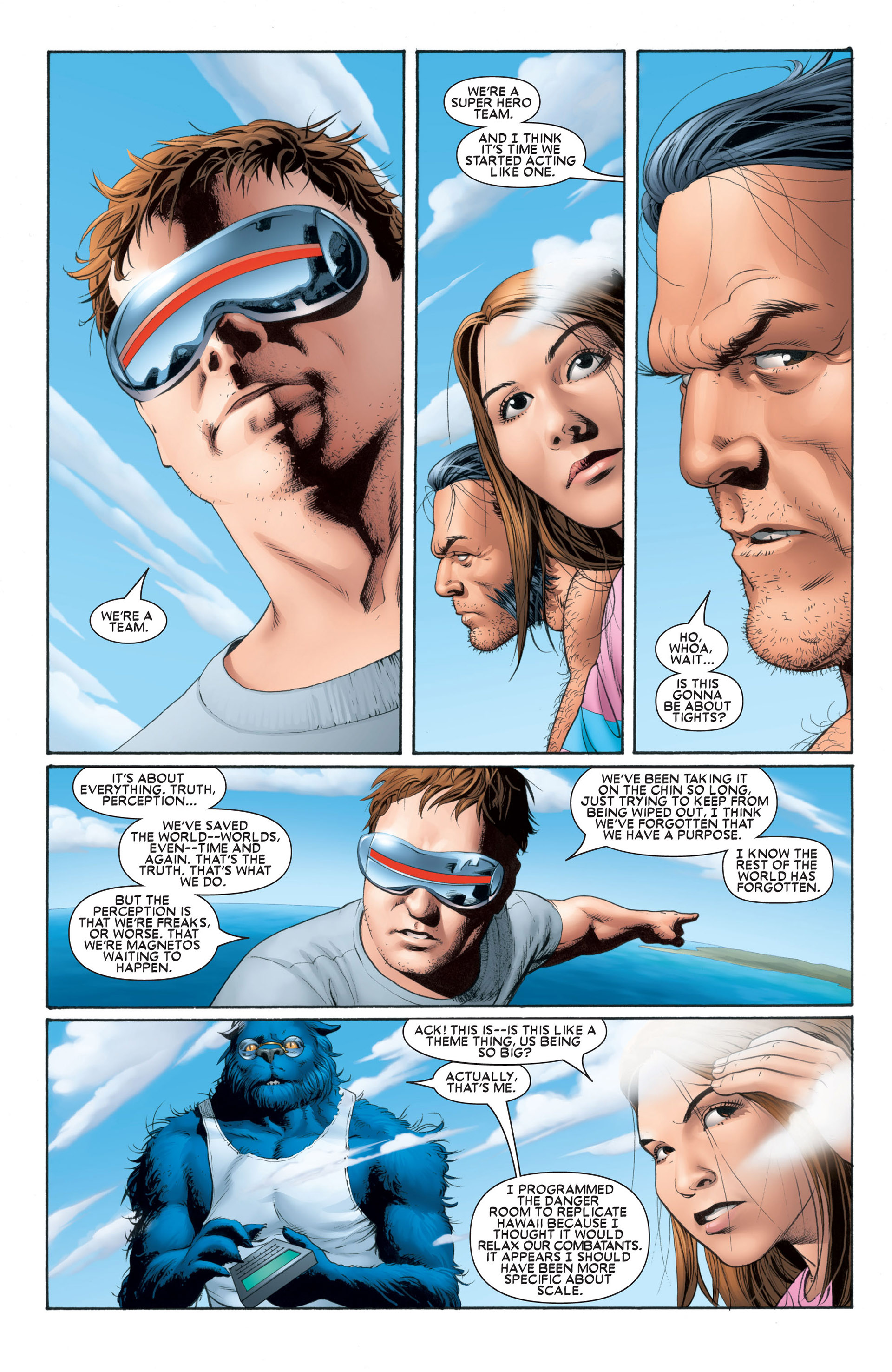 Astonishing X-Men (2004) issue 1 - Page 15