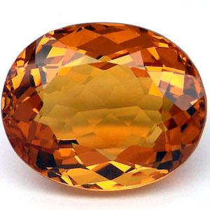 Bijoux et pierres precieuses topaze ou citrine ou corindon jaune attention - Fausse pierre precieuse ...