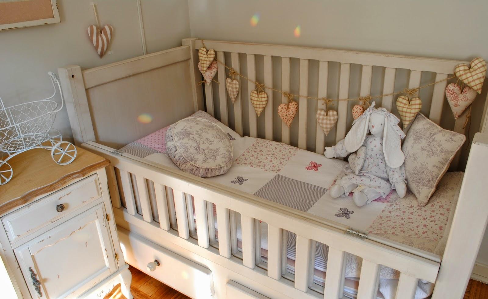 cunas de madera para el bebe
