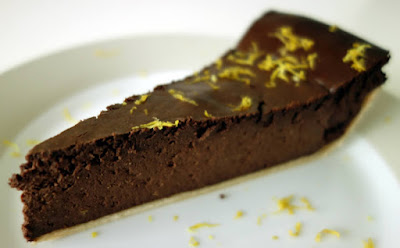 Gluten-Free Chocolate Lemon Cheesecake
