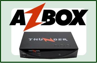 AZBOX THUNDER/ TITAN EM ONIX COMO CONFIGURAR CS - 31/03/2016