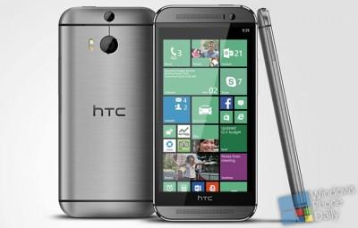 HTC One M8 for Windows, nama Perangkat HTC Windows Berikutnya?