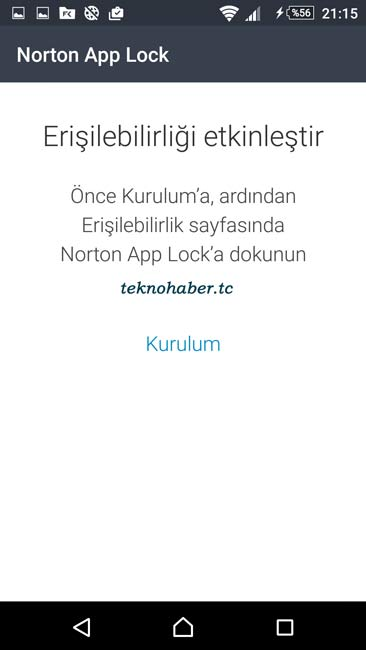 Norton App Lock İndir!