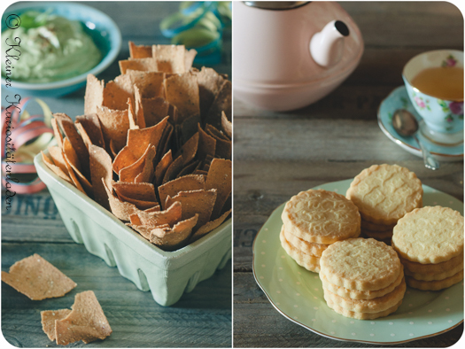 Tortillasticks und Shortbread