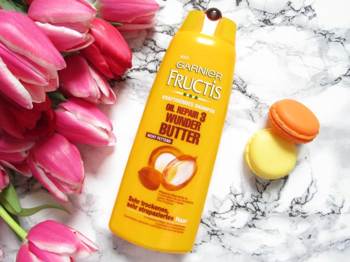 Review: Garnier FRUCTIS Oil Repair 3 - Wunder Butter - Shampoo - 250ml - 1,55 Euro