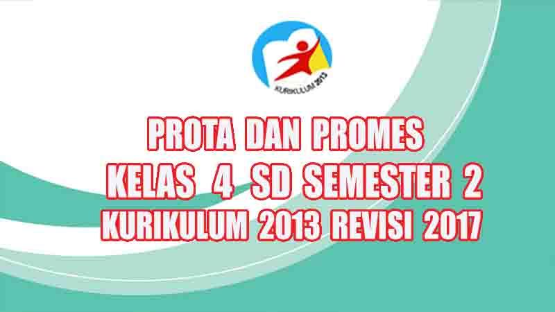 Program Semester Tematik Kelas 4 Sd Semester 2 Kurikulum 2013 Revisi 2017 Gurusd Id