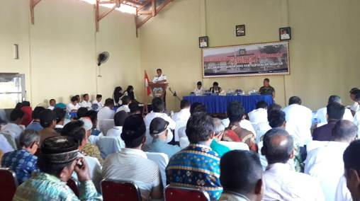 """Dari Arena Musrenbang Kecamatan, Wakil Rakyat Disoroti Tidak Aktif, Dan Hanya Datang Saat Mencari Dukungan"""""""