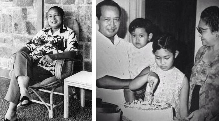 Foto-Foto Mantan Presiden Soeharto Saat Bertugas dan Bersama Keluarga