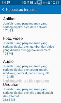 Cara mencari hasil download di android