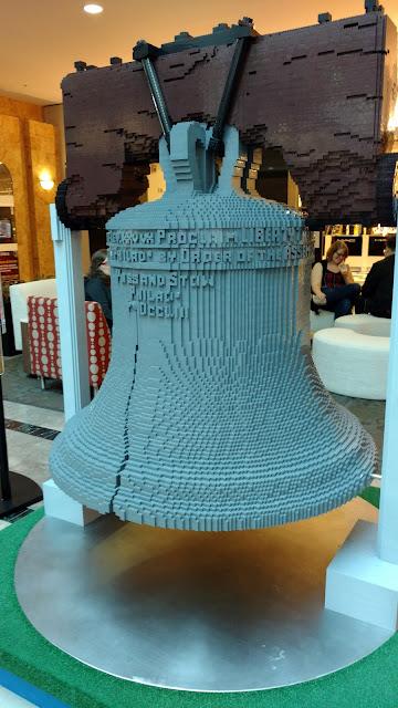 Дзвін Свободи з LEGO
