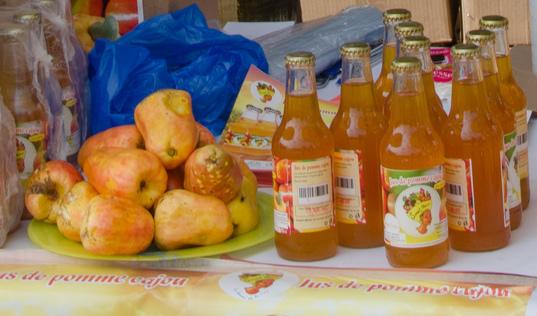 A Power Drink - Cashew Apple Juice from Sweet Benin   Timbuktu