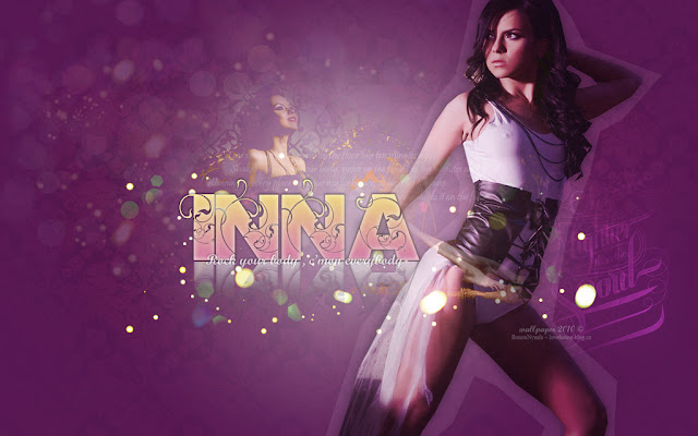 Download Free Wallpapers: Inna Romanian dance music singer