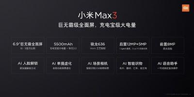 Mi Max 3 Specs, Price, Features, Leaked Images, Price Launch Date India Mi Max 3