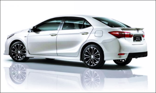 2018 Toyota Corolla Altis Specifications