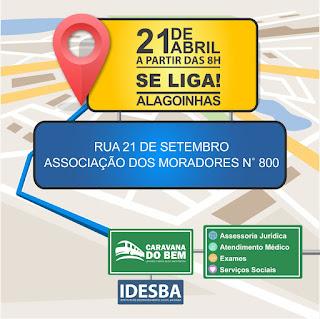 Alagoinhas recebe duas Caravanas do Bem em Abril