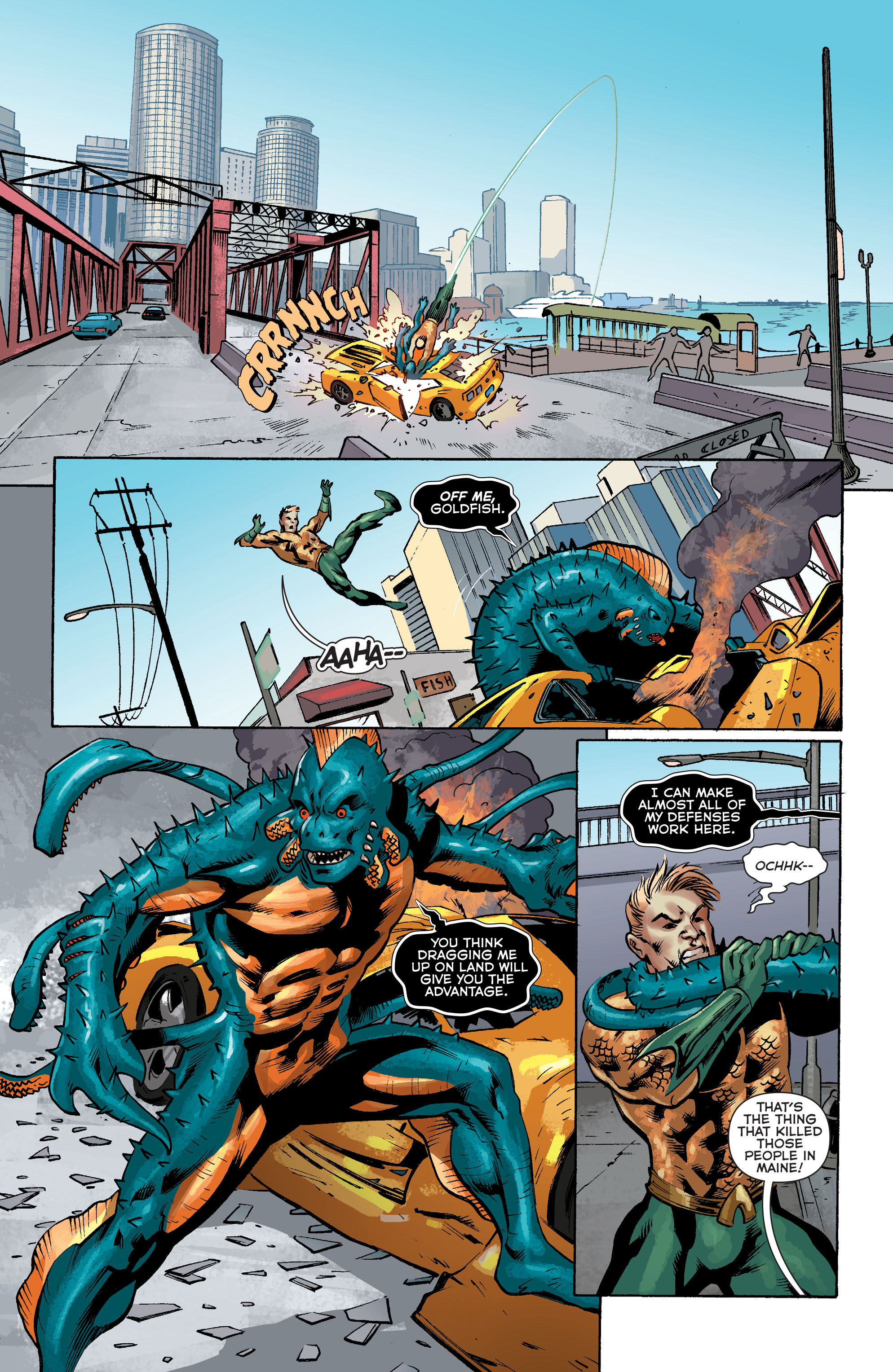 Read online Aquaman (2011) comic -  Issue #34 - 9