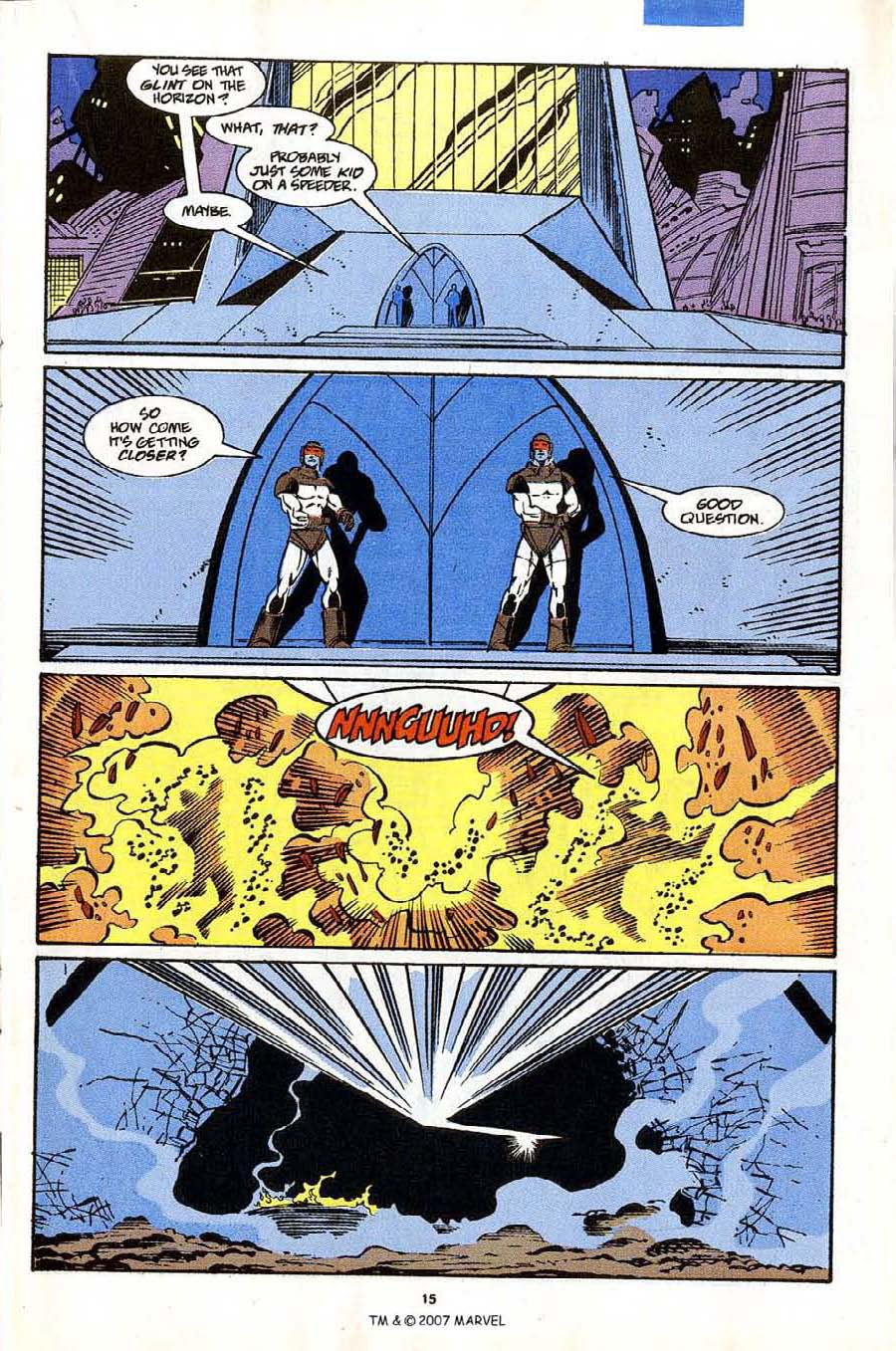 Read online Silver Surfer (1987) comic -  Issue #53 - 17